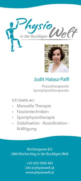 Physiowelt Flyer