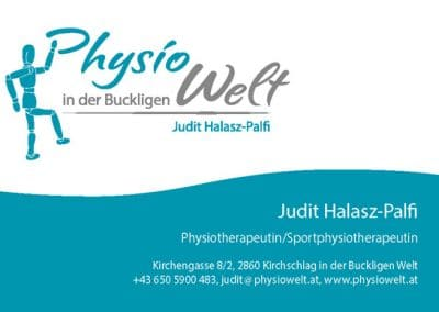 PhysioWelt Judit Halasz-Palfi