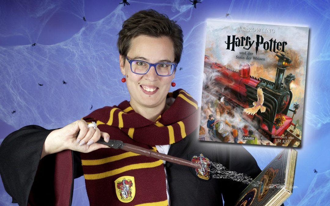 Harry Potter Bücher mit Illustrationen