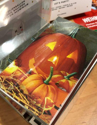 Steichhölzer Kürbis Halloween