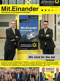 Mit.einander Raiffeisenbank Schneebergland Kundenzeitung